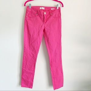 Seven Skinny Hot Pink Jeans Size 4